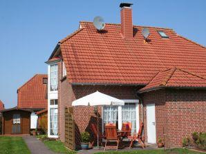 Nordsee Ferienhaus mit Kaminofen