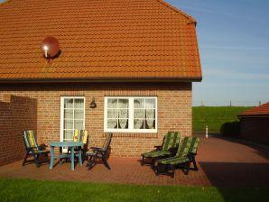 Nordsee Ferienhaus am Deich