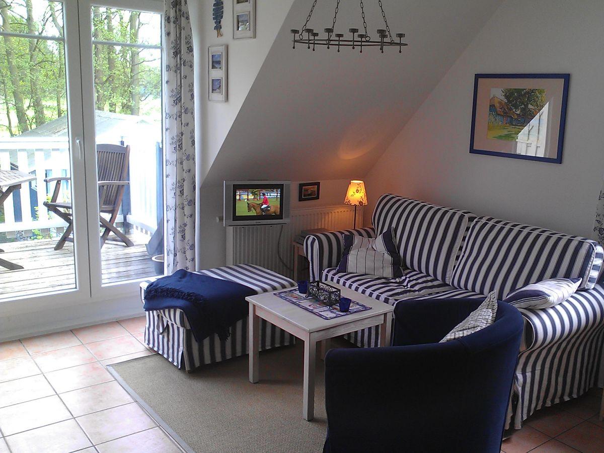 haus wohnzimmer oben:Ferienwohnung Haus Aabenraa 1, Ostseebad Prerow – Herr Olaf Burow
