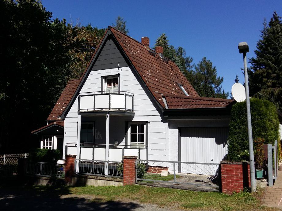 Außenaufnahme im Waldhäuschen, Bad Harzburg/Harz