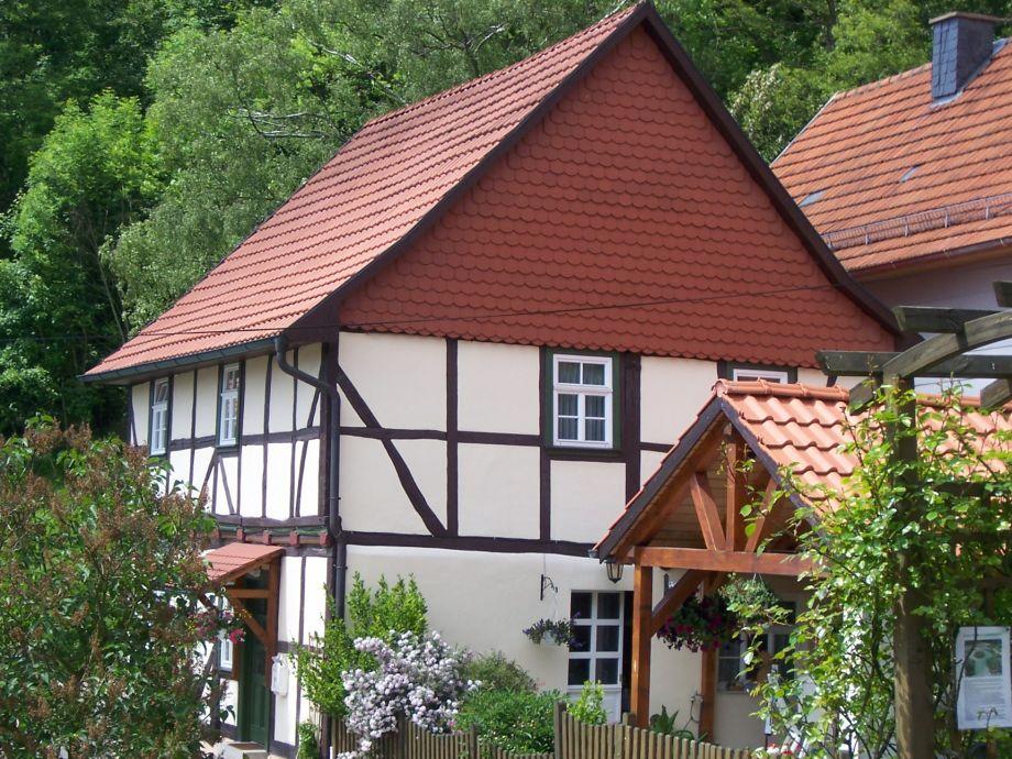 ferienhaus an der normannsteinquelle hainich werratal. Black Bedroom Furniture Sets. Home Design Ideas