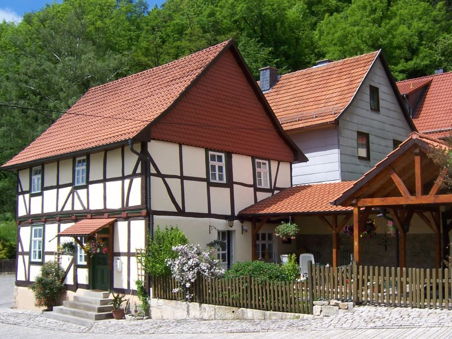 """Fachwerkferienhaus """"An der Normannsteinquelle"""""""