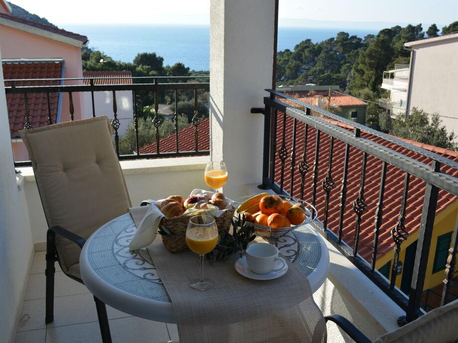 Ferienwohnung (Hvar) Balkon