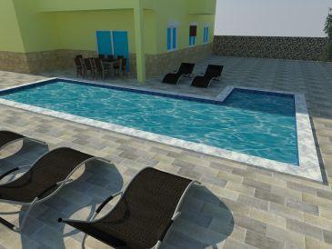 Ferienwohnung Korcula mit Pool