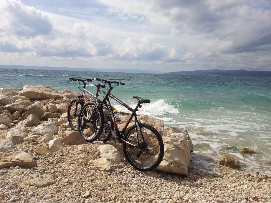Buchen in Villa Matija hochwertige Mountainbike gratis