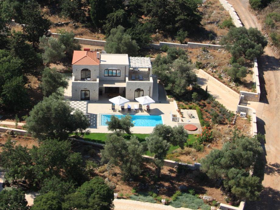 Luftbildaufnahme Ihrer Ferienvilla