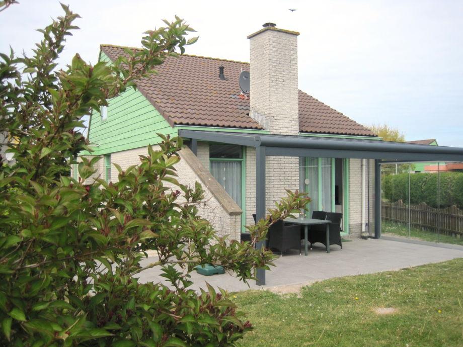Das Ferienhaus mit Veranda