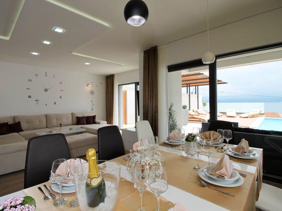Luxus villa paradise duce dalmatien firma feriehome for Küch