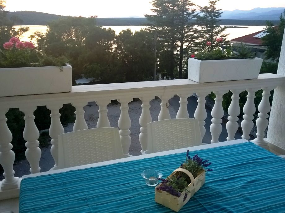 Sea view terrace