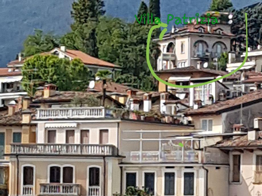 Außenaufnahme LAKE GARDA (West )  Villa Patrizia