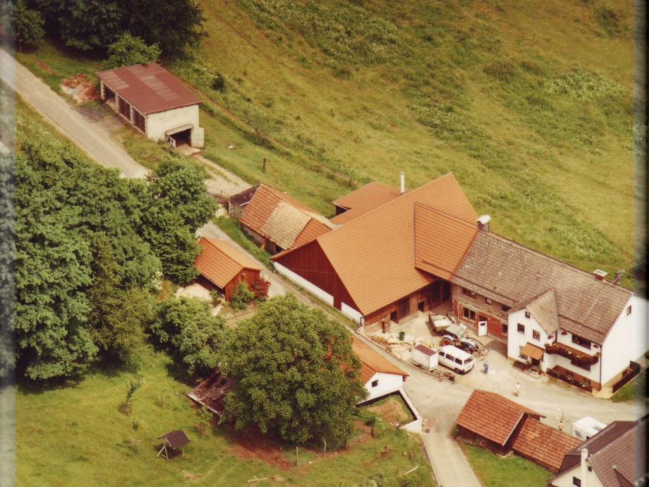Luftaufnahme-Bauernhof