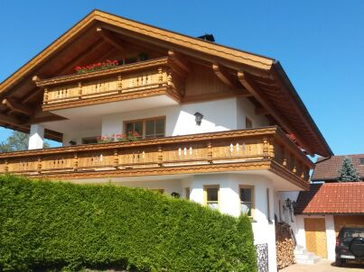 Maisonette Ferienwohnung mit Bergblick