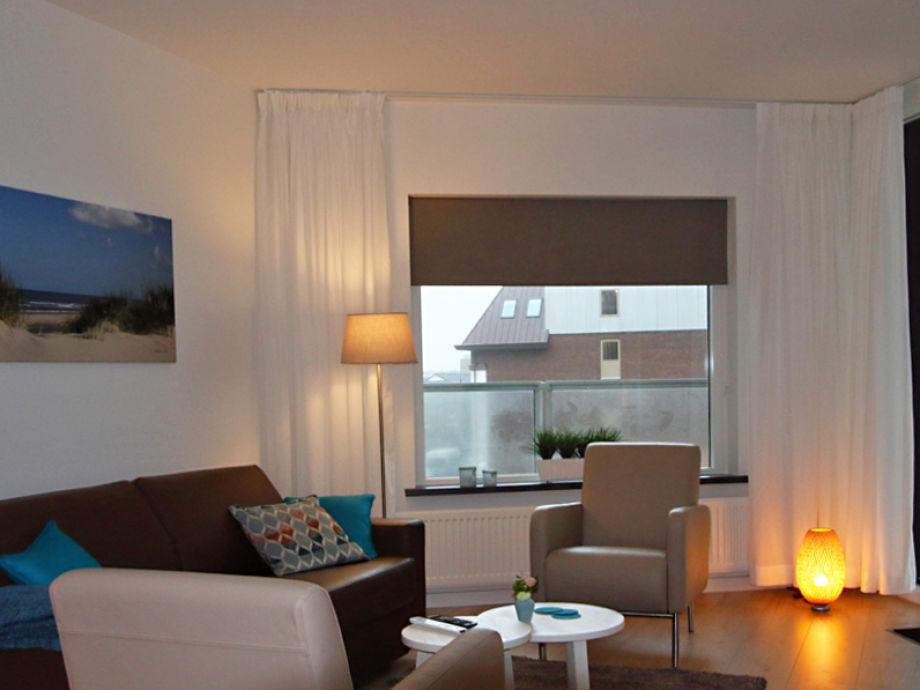 Ferienwohnung sterflat 85 nord holland egmond aan zee for Eingerichtete wohnzimmer