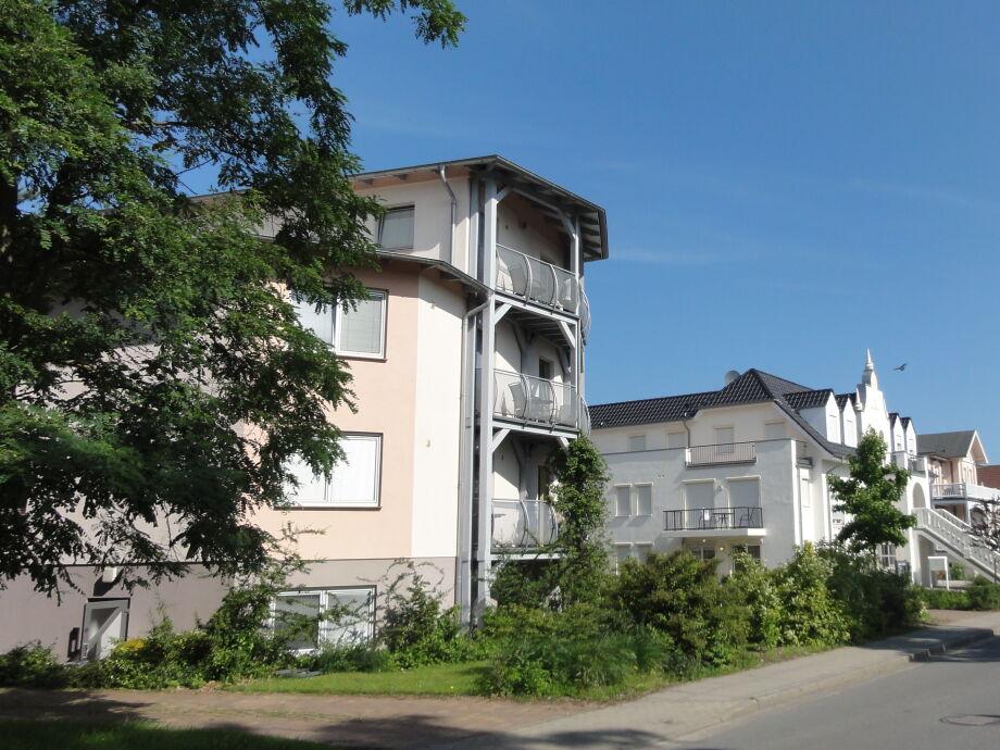 Herrmannstr. mit Blick zur Ostsee