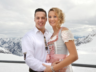 Ihr Gastgeber Simone und Daniel Kleinheinz