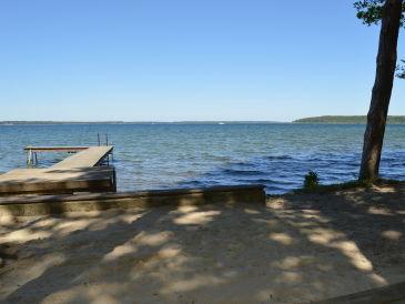 Ferienhaus Urlaub mit Hund am Plauer See