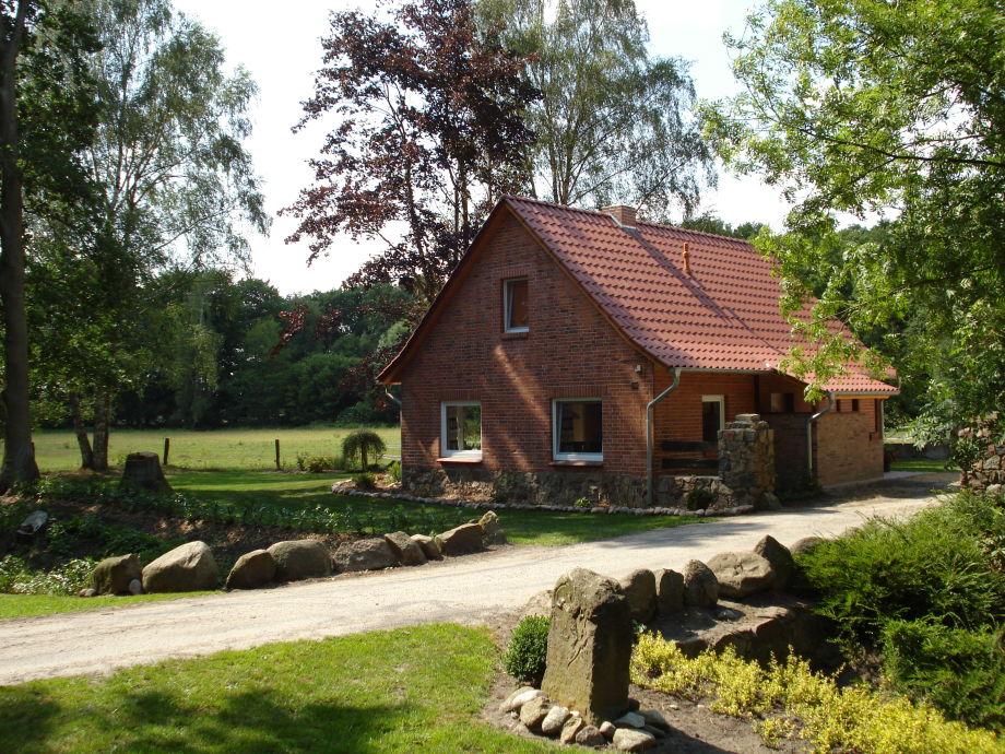 Haus zur Pferdekoppel Ansicht von der Zufahrt