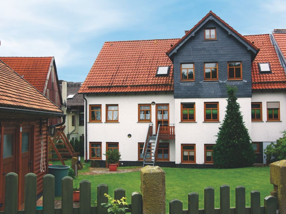 Ferienhaus - Gartenseite