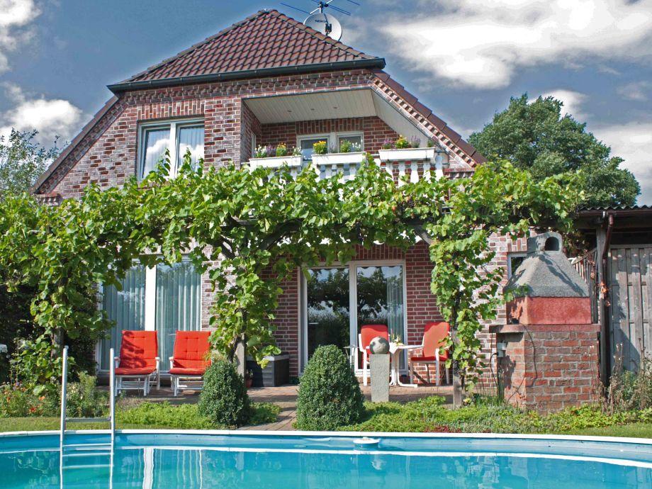 Haus Mehrblick Gartenansicht