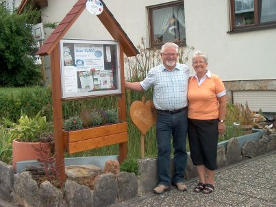 Ihr Gastgeber Klaus und Rosi Seidenspinner