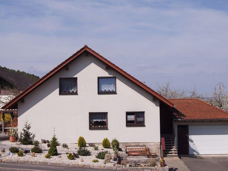 Ferienwohnung Haus KLARO - Frontansicht