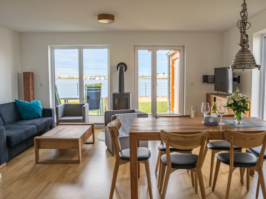 Ferienhaus Am Meer - Wohn-/Essbereich