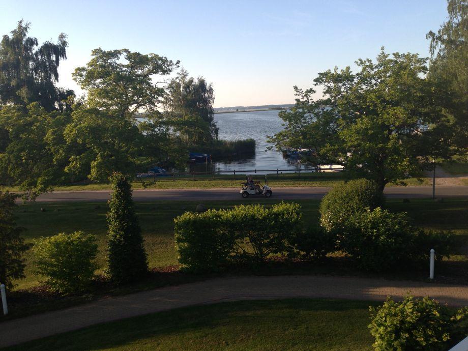 Blick vom Balkon auf Balmer See