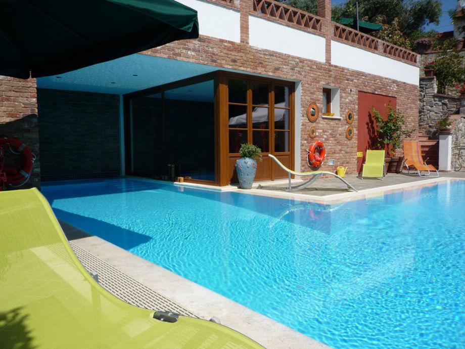 Villa Capo Corso mit Pool