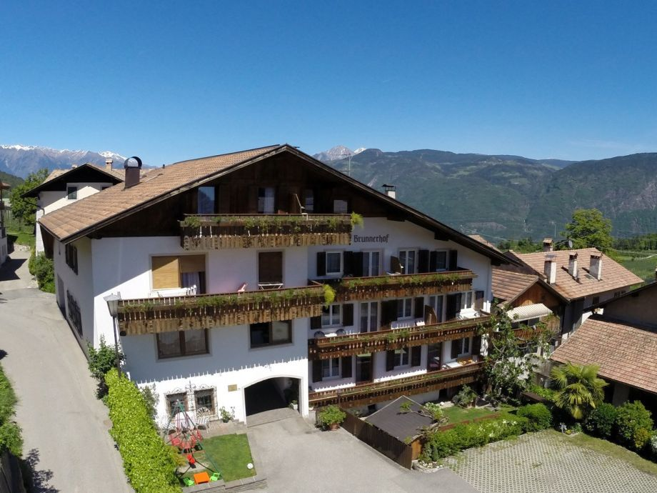 Außenaufnahme in der Residence Brunnerhof