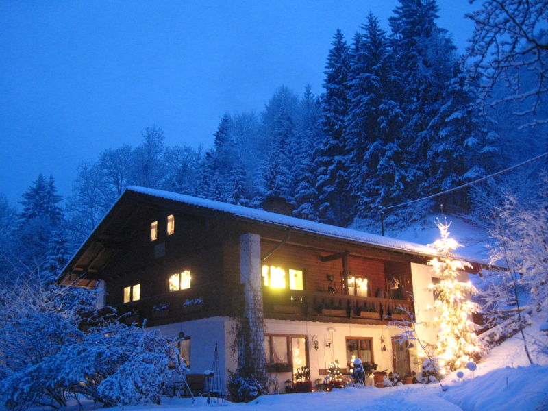 Holiday apartment Anfangmuehle in the bavarian mountains