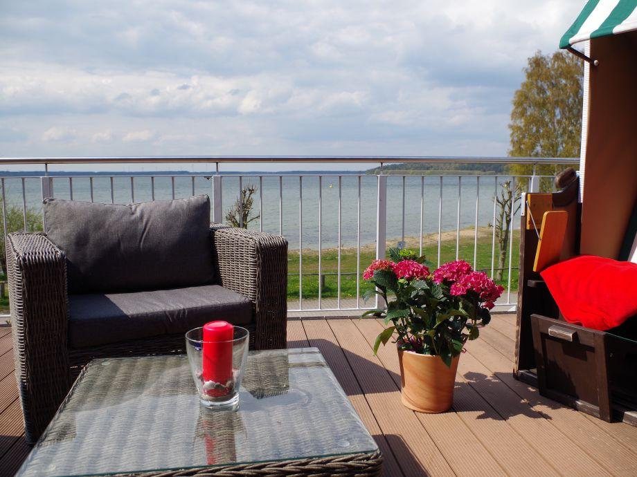 Ferienhaus mit Sauna direkt am Plauer See mit Seeblick