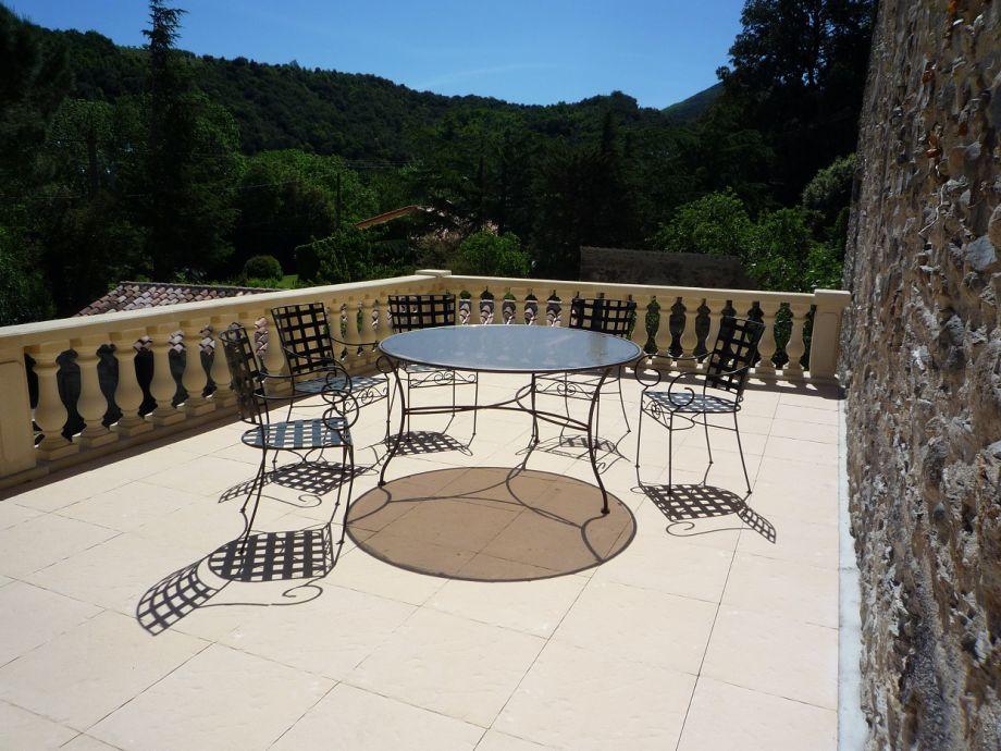 Sunny terrace La Terrasse Apartment