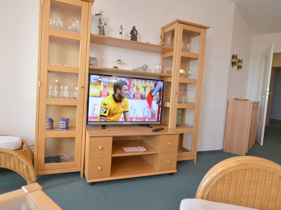 Wohnzimmer mit Seesicht und W-lan kostenlos