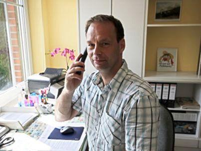 Ihr Gastgeber Peter Hilbert