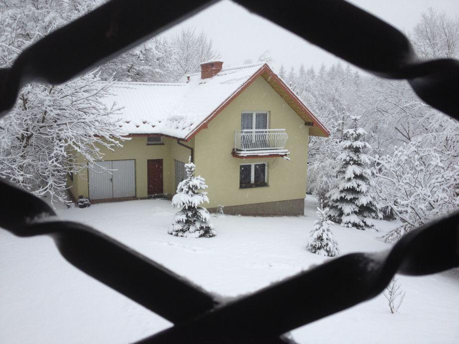 Ferienhaus EWA im Winter