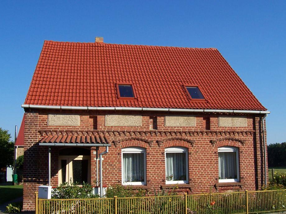 Unser Haus, Ferienwohnung befindet sich im Dachgeschoss