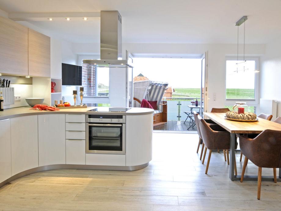 Wohnküche mit tollem Blick