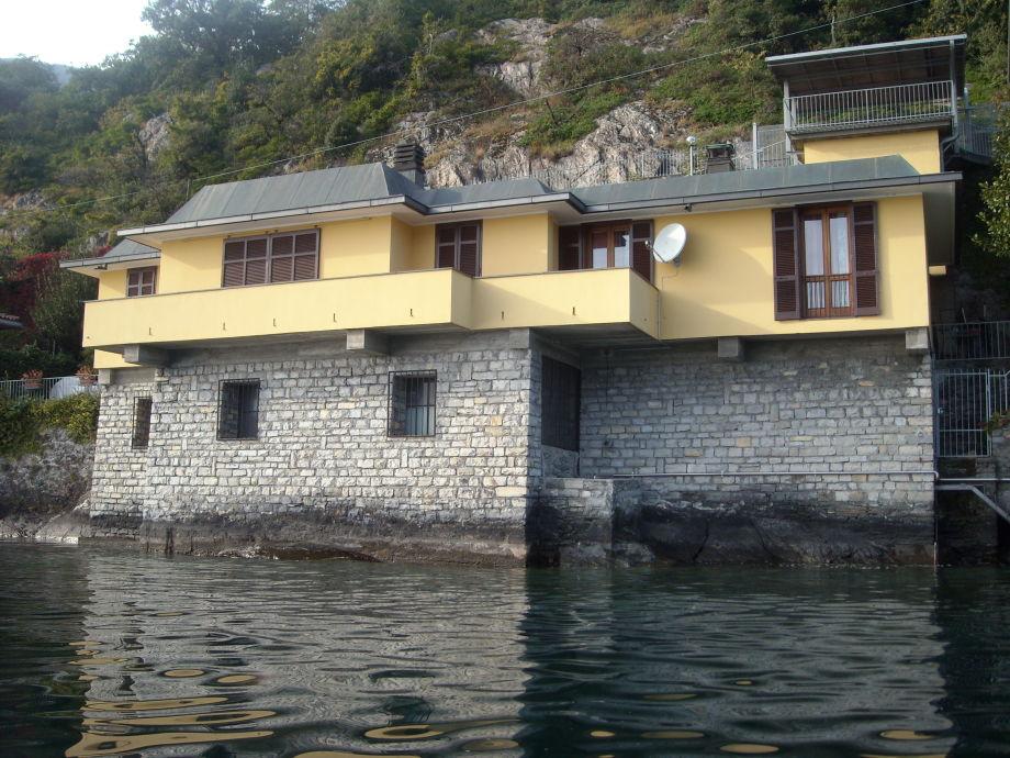 villa del pescatore comer see rezzonico frau lucia. Black Bedroom Furniture Sets. Home Design Ideas