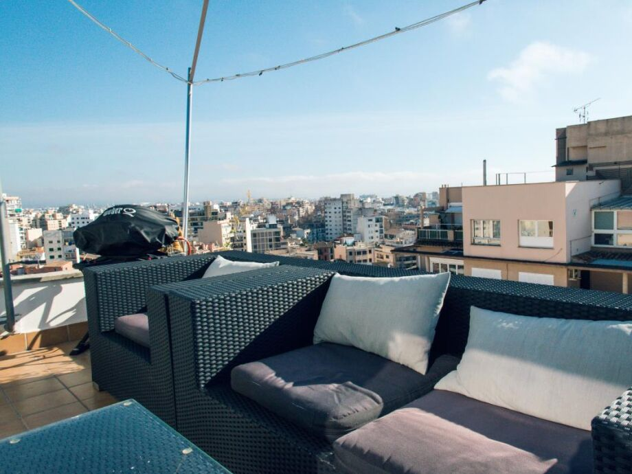 Terrassensitzplätze