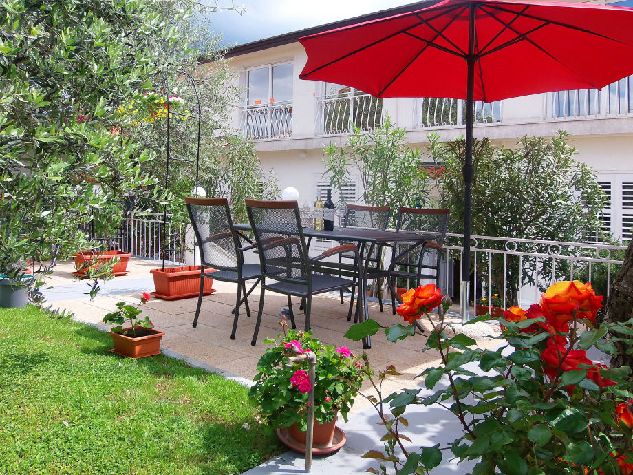Haus mit Garten Ausicht