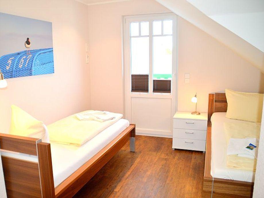 Ferienwohnung penthouse rothtraut nordseeinsel f hr for Moderne einzelbetten