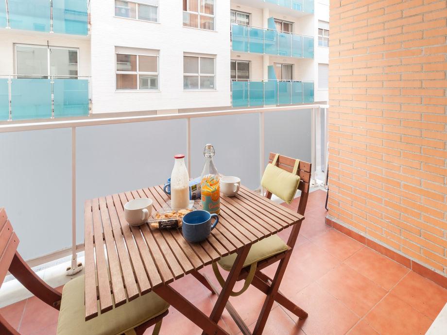 Balkon  Ferienwohnung Pereso
