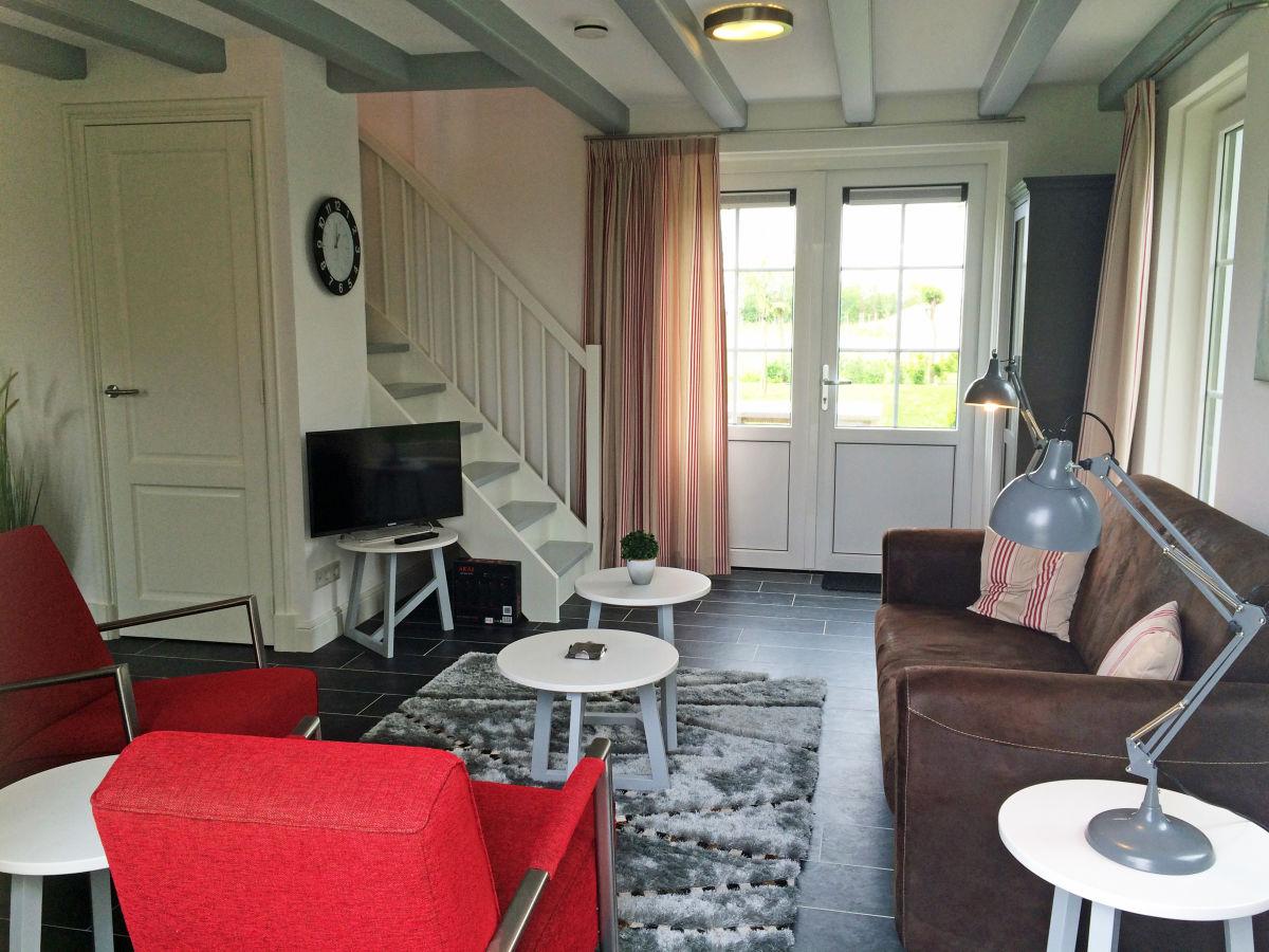 Ferienhaus het duvekot westkapelle firma - Eingerichtete wohnzimmer ...