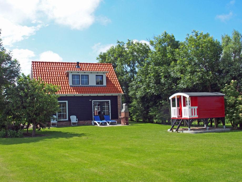 Ferienhaus het Duvekot und Kinderhäuschen