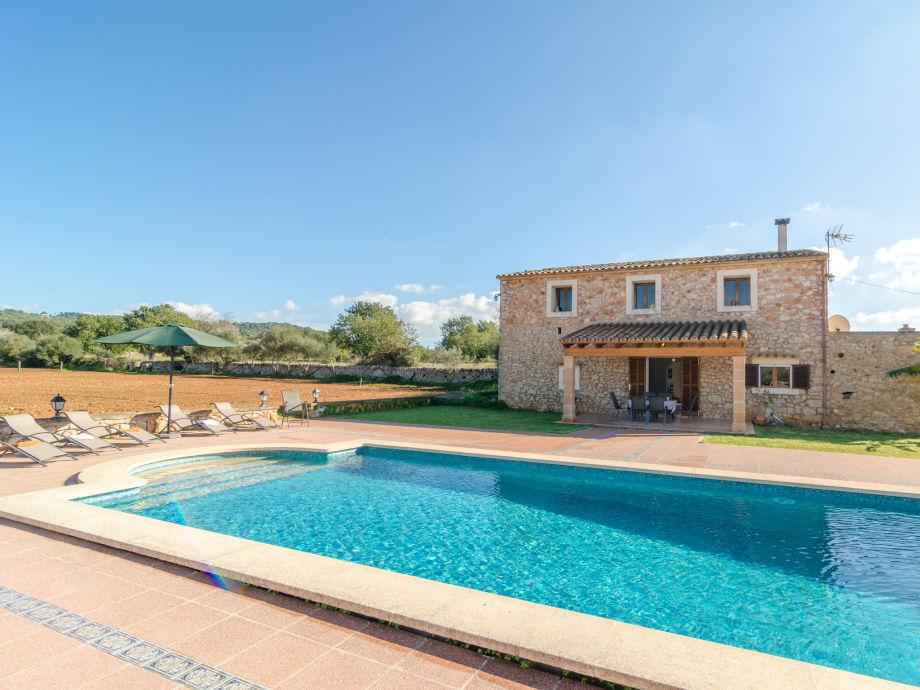 Beautiful pool with sun loungers