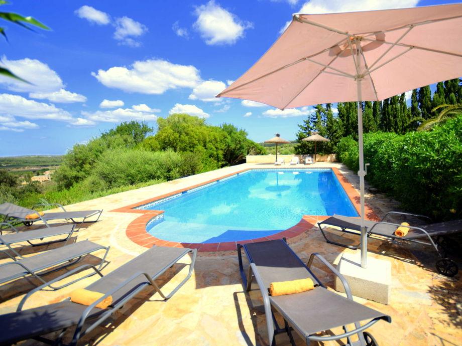 Ausblick von pool