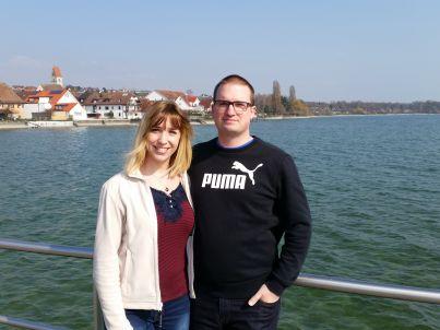 Ihr Gastgeber Carmen Briemle und Thomas Speth