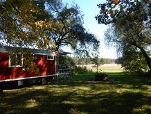 Wohnwagen Schäferwagen im Birkenhof
