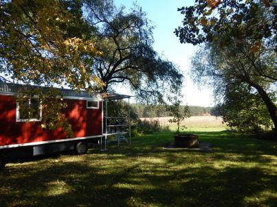 Schäferwagen im Birkenhof