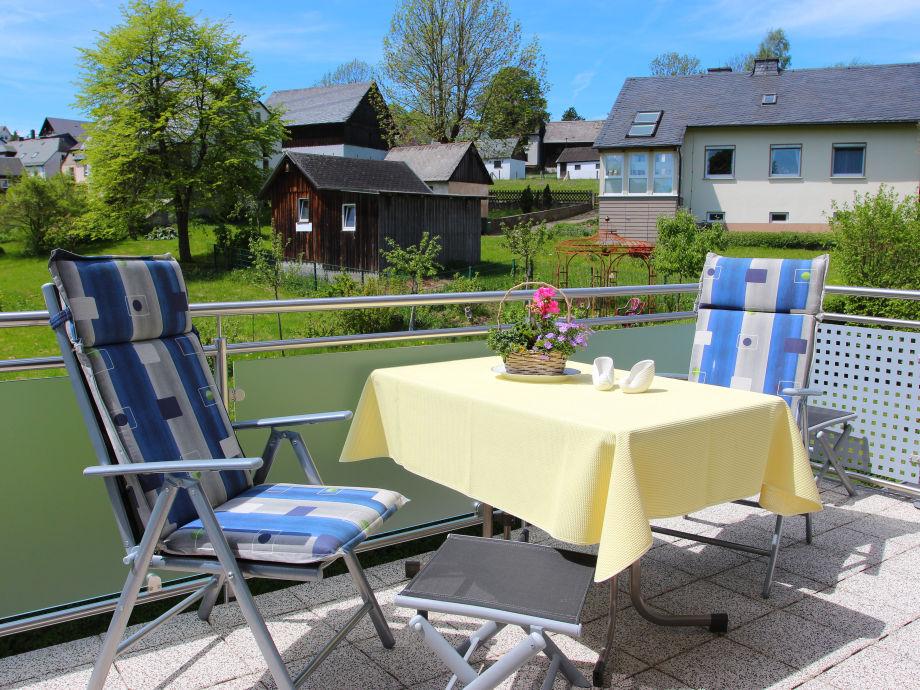 Ferienwohnung Gluth Staatsbad Bad Steben Frankenwald